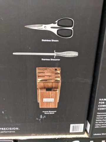 Cuisinart Hammered Knife Block Costco