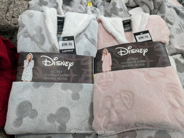 Disney Ladies' Sherpa Hoodie Costco