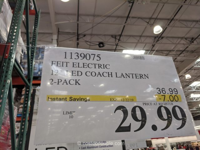 Feit Electric LED Outdoor Lantern Costco