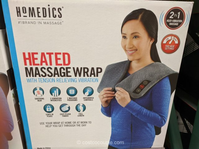 Homedics Heated Massage Wrap Costco