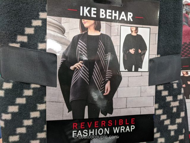 Ike Behar Ladies' Reversible Lined Wrap Costco