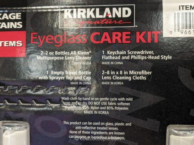 Kirkland Signature Eyeglass Care Kit Costco