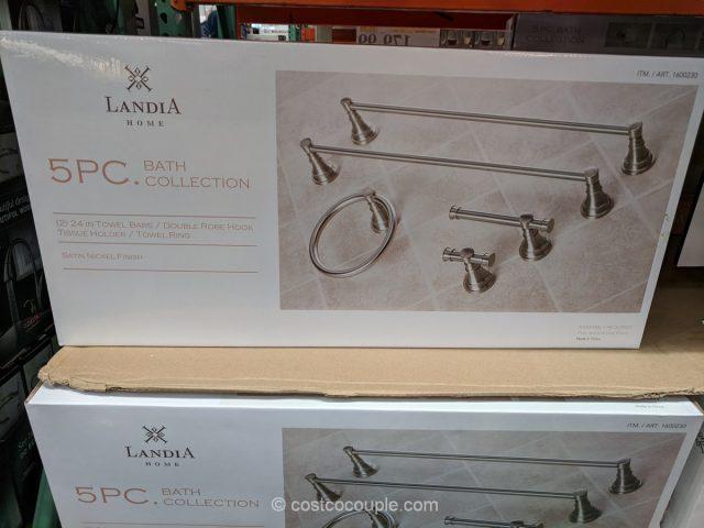 Landia Home 5-Piece Bath Collection Costco