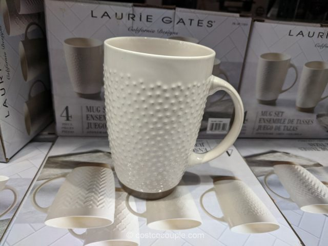Laurie Gates Stoneware Mug Set Costco