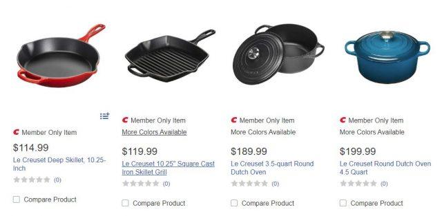Le Creuset Cookware Costco