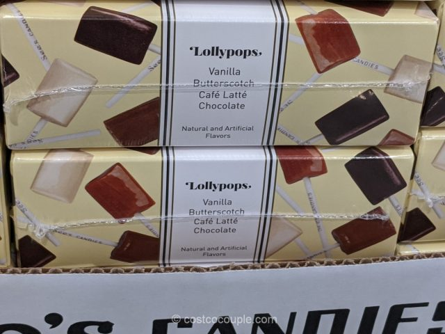See's Candies Assorted Lollypops Costco