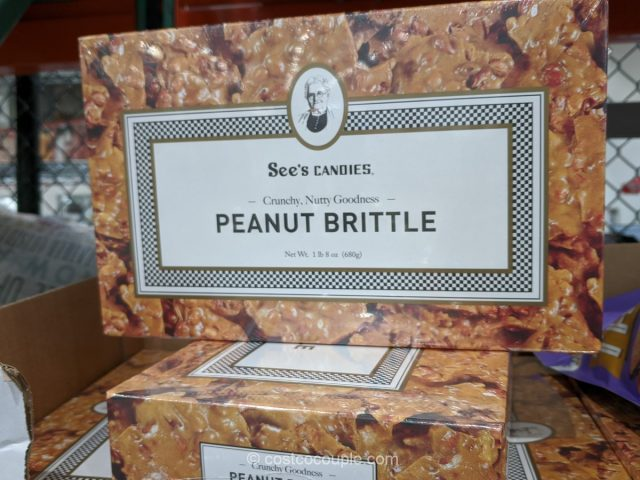 See's Candies Peanut Brittle Costco