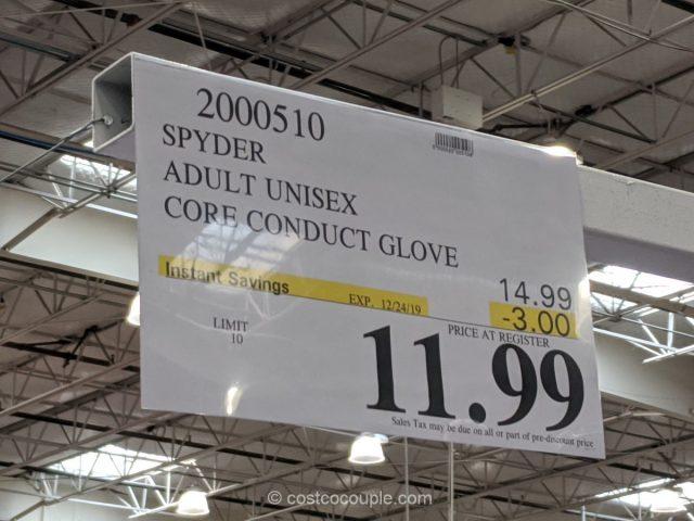 Spyder Adult Unisex Core Conduct Glove Costco