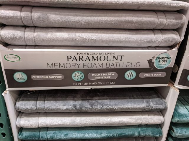 Town and Country Paramount Memory Foam Bath Mat Costco