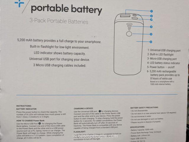 Tylt Portable Power Bank Costco