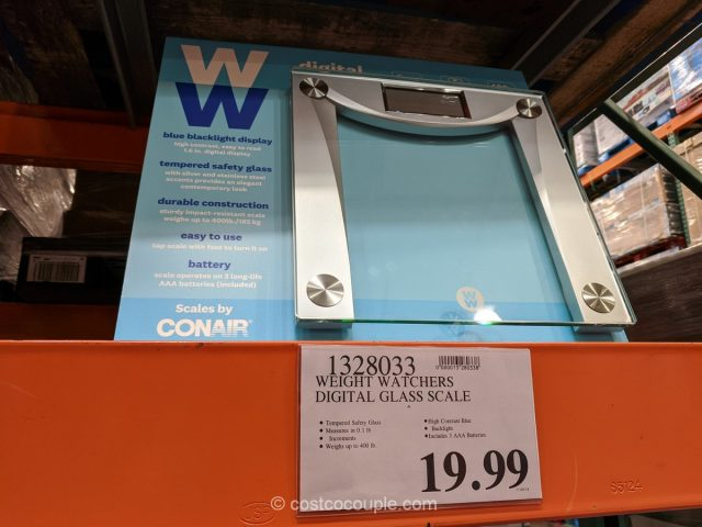 Weight Watchers Digital Glass Scale Costco