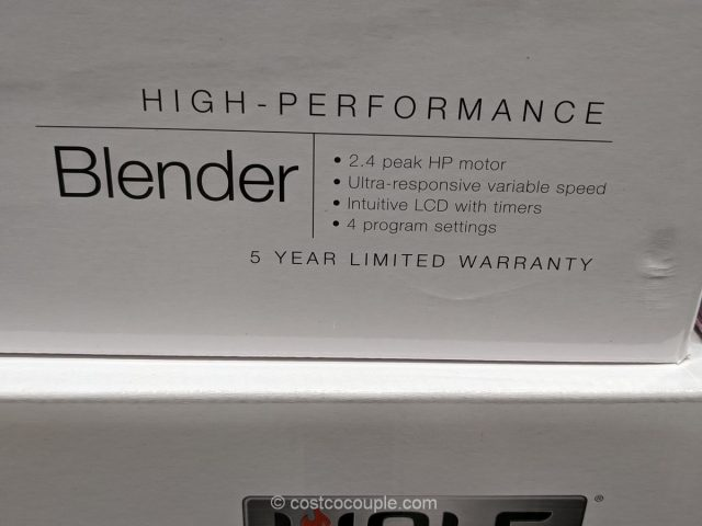 Wolf Performance Blender Costco