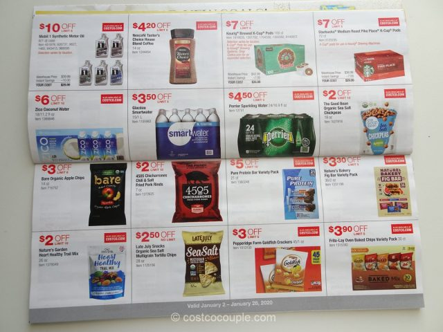 Costco January 2020 Coupon Book 01/02/20 to 01/26/20