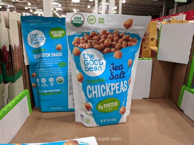 Good Bean Organic Sea Salt Chickpeas Costco