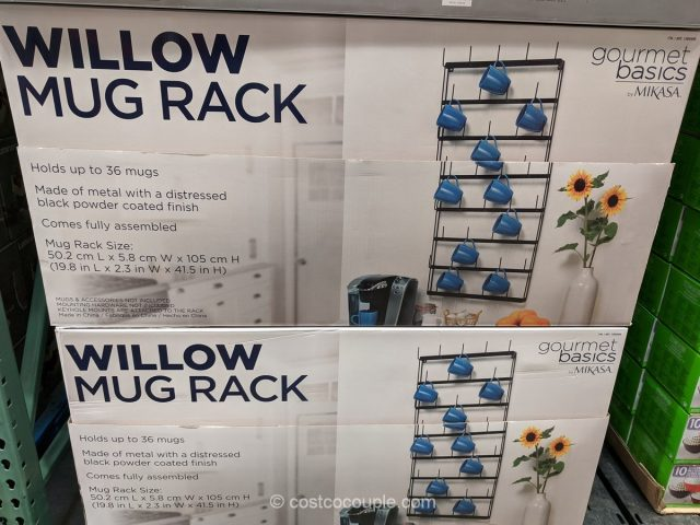 Gourmet Basics Mug Rack Costco