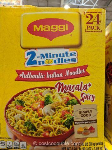 Maggi 2-Minute Masala Noodles Costco