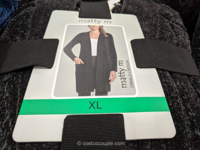 Matty M Ladies Chenille Cardigan Costco