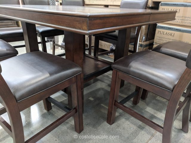 Pulaski 9-Piece Dining Set Costco