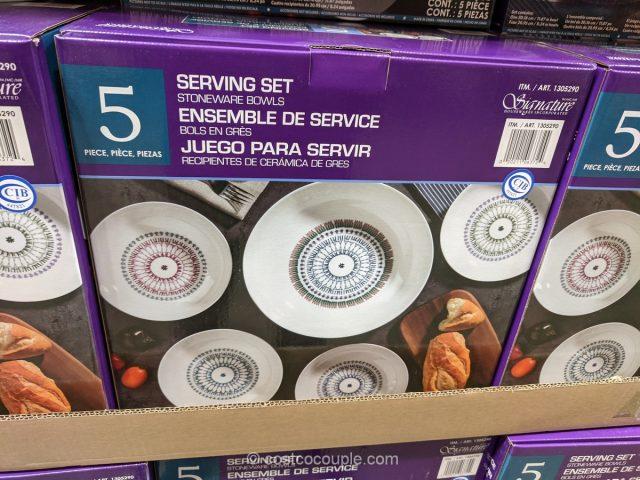 Signature Pasta Bowl Set Costco