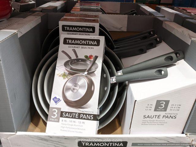 Tramontina 3-Piece Nonstick Saute Pans Costco