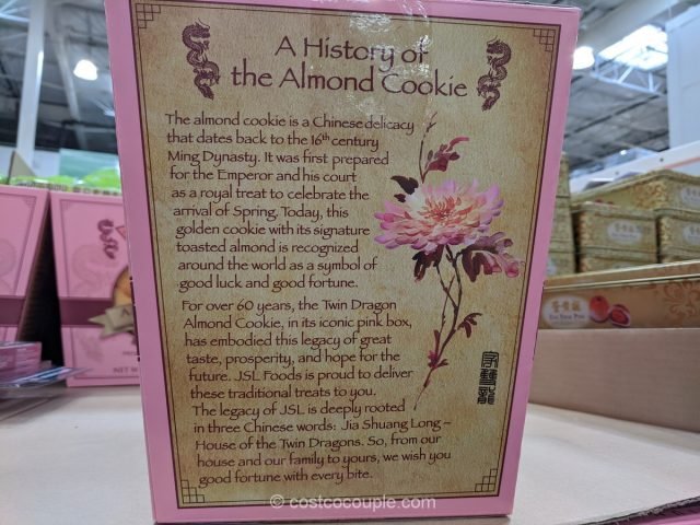 Twin Dragon Almond Cookies Costco