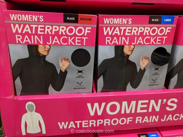 32 Degrees Ladies Rain Jacket Costco