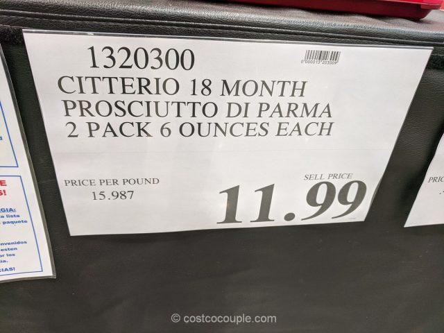 Citterio Prosciutto Di Parma Costco