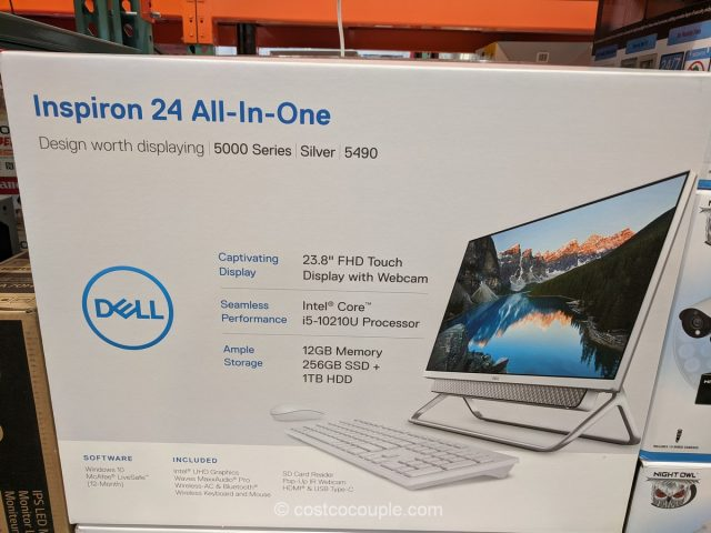 Dell Inspiron 24 All-In-One PC Costco