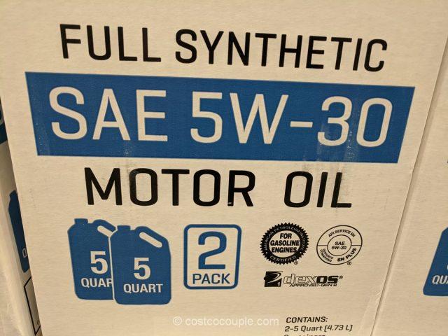 Kirkland Signature Full Synthetic SAE 5W-30 Motor Oil Costco