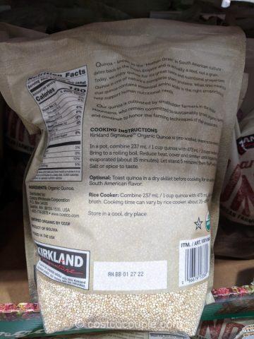Kirkland Signature Organic Quinoa Costco