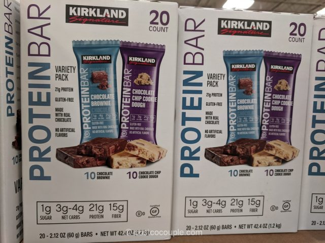 Kirkland Signature Protein Bar Variety Pack Costco