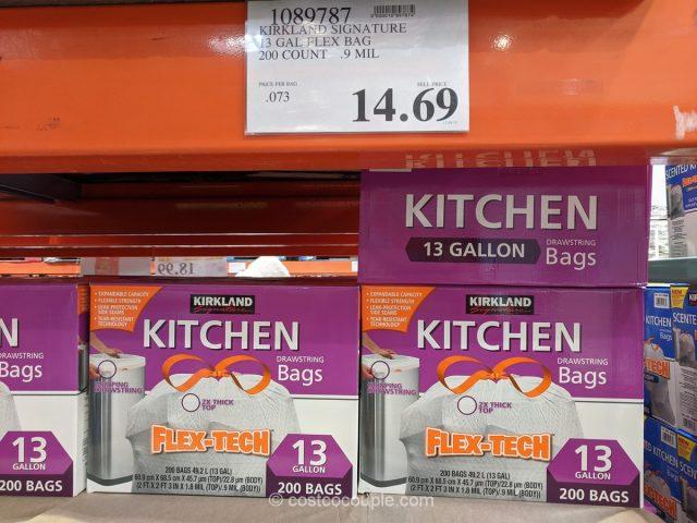 Kirkland Signature Kitchen Trash Bags Costco