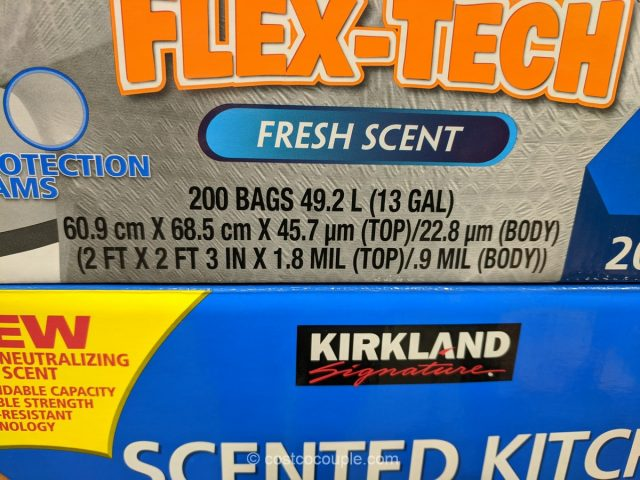 Kirkland Signature Scented Kitchen Trash Bags Costco