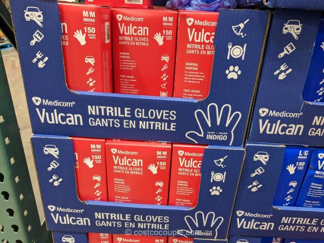 Medicom Vulcan Nitrile Gloves Costco