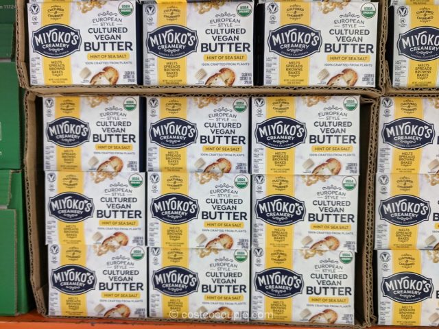 Miyokos Creamery Cultured Vegan Butter Costco
