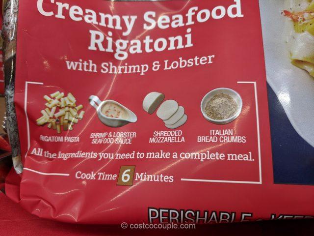 Monterey Gourmet Foods Creamy Seafood Rigatoni Costco