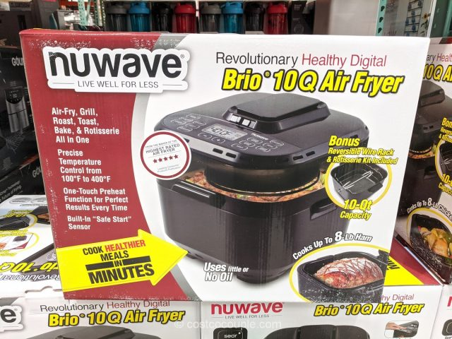 Nuwave Brio 10-Qt Air Fryer Costco