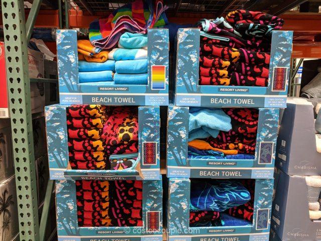 Resort Living Beach Towels Costco