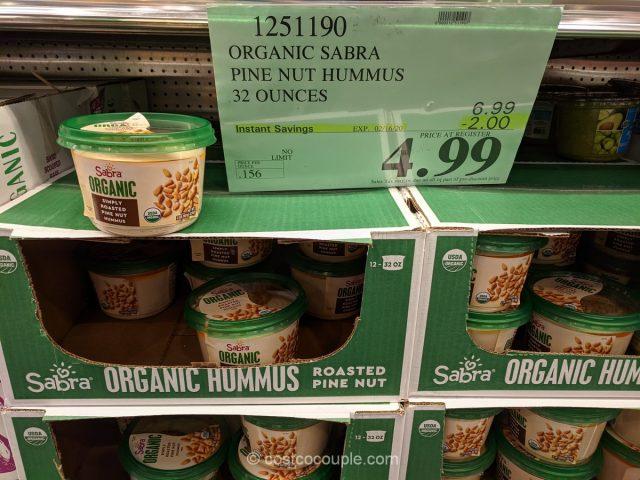 Sabra Organic Pine Nut Hummus Costco