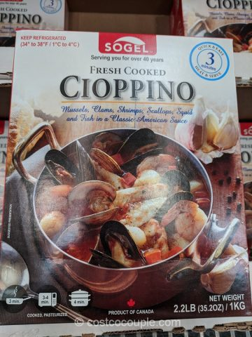 Sogel Fresh Cooked Cioppino Costco