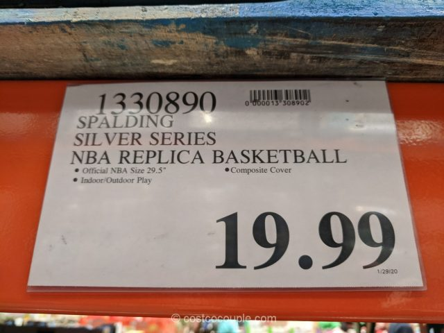 Spalding Silver Series NBA Replica Basketball Costco