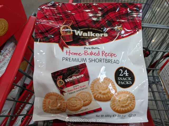 Walkers Home-Baked Shortbread Rounds Costco