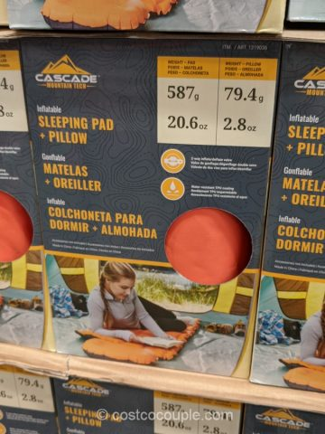 Cascade Inflatable Sleeping Pad Costco
