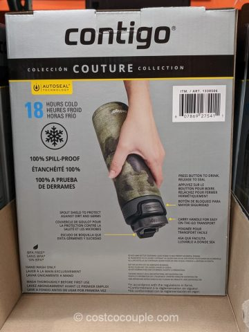 Contigo Couture Stainless Steel Water Bottles Costco
