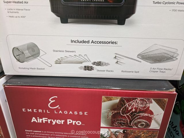Emeril Lagasse AirFryer Pro Costco