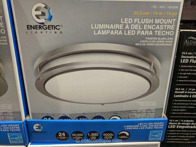 Energetic Lighting LED Flush Mount Ceiling Light Costco