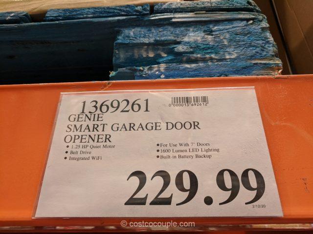 Genie Smart Garage Door Opener Costco