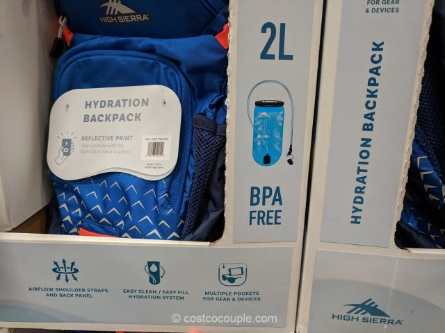 High Sierra Craigin Hydration Backpack Costco