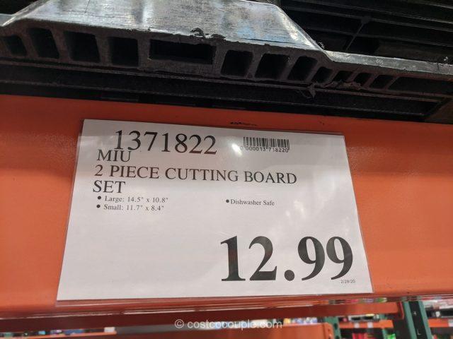 Miu Cutting Board Set Costco