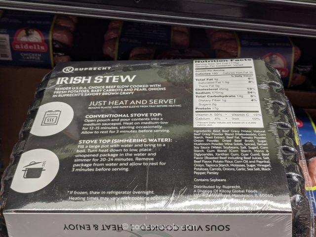 Ruprecht Irish Stew Costco